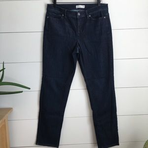 J. Jill Jeans Blue Slim Pants skinny jeans denim